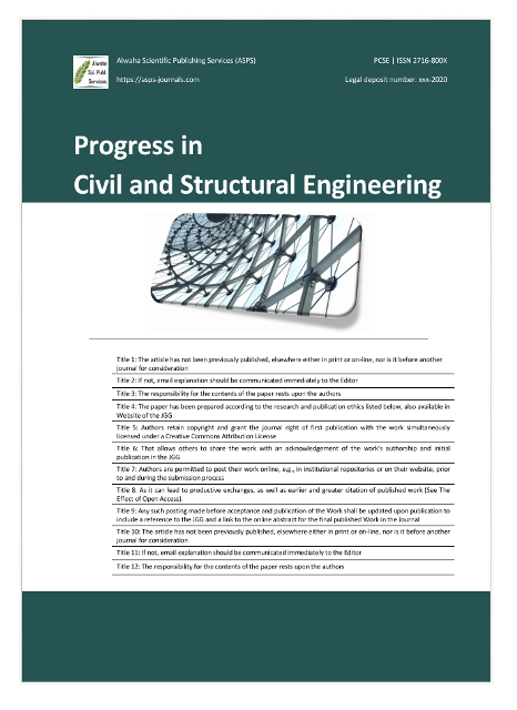 Progress in Civil and Structural Engineering (PCSE)