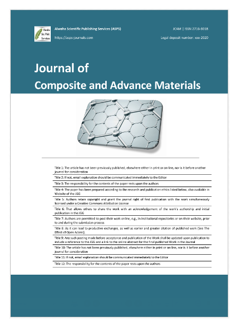 Journal of Composites and Advance Materials (JCAM)